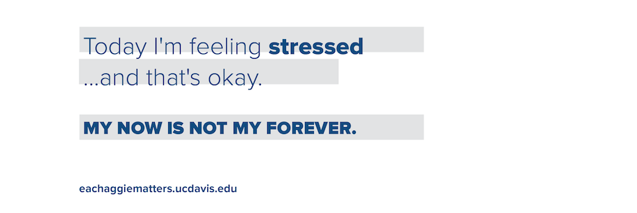 Today I'm feeling stressed... and that's okay.